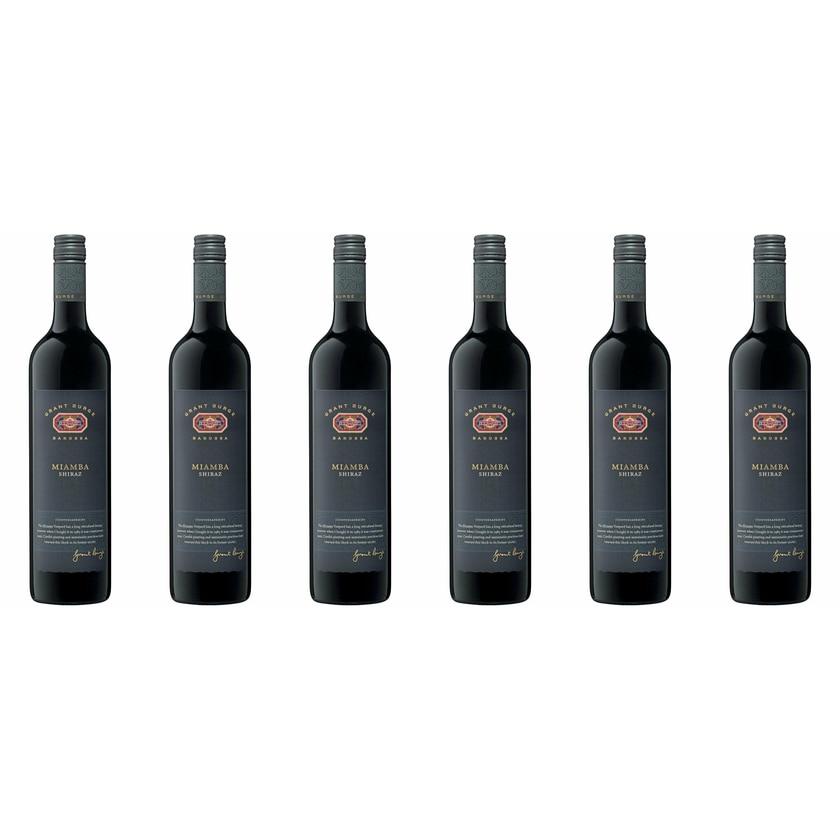 Grant Burge Shiraz Miamba Vineyard South Australia 2016 Wein 6 x 0.75 l