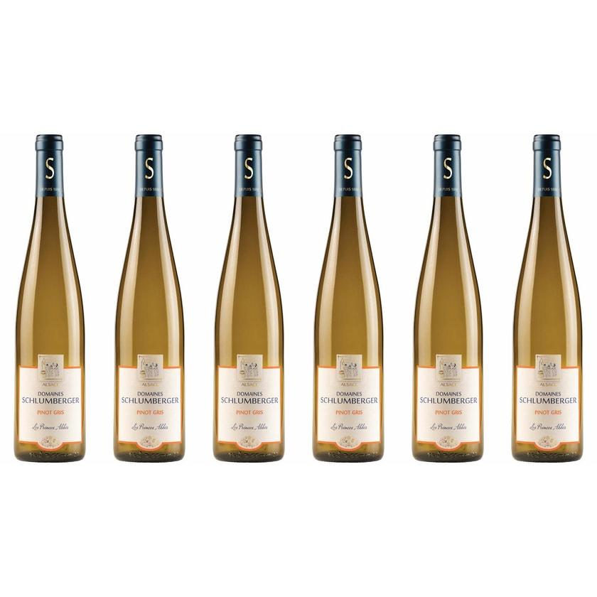 Domaines Schlumberger Pinot Gris Les Princes Abbés Elsass 2017 Wein 6 x 0.75 l