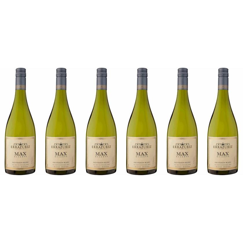 Vina Errazuriz Max Reserva Sauvignon Blanc Aconcagua Valley 2016 Wein 6 x 0.75 l