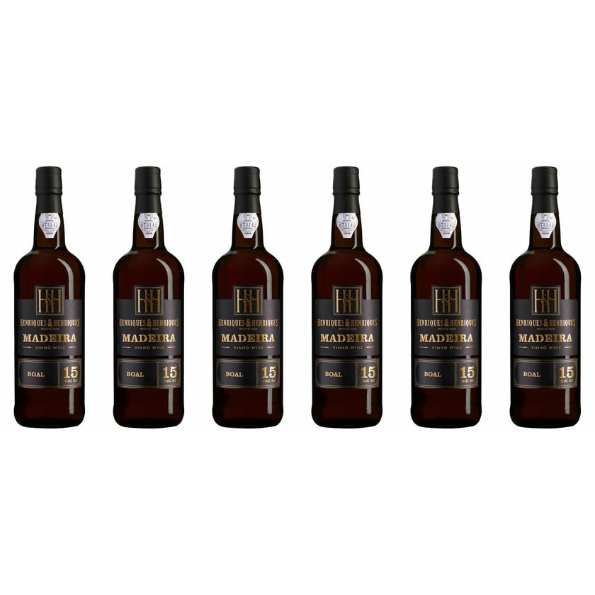 Henriques & Henriques Bual Aged 15 years 20% vol Madeira Madeira 6 x 0.75 l