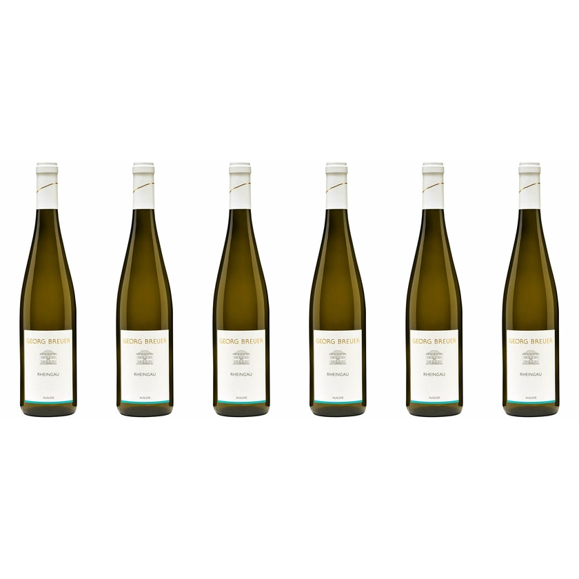 Weingut Georg Breuer Rheingau Riesling Auslese Rheingau 2019 Wein 6 x 0.375 l