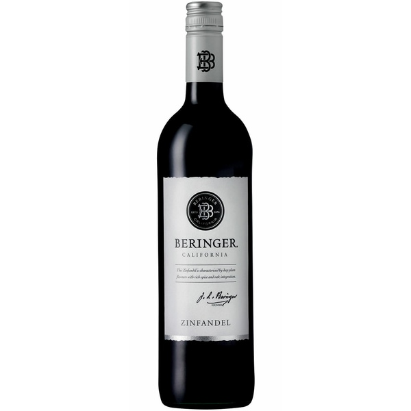 Beringer Classic Zinfandel Kalifornien 2017 Wein 1 x 0.75 L