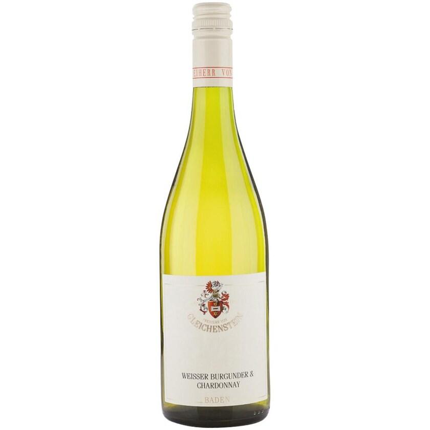Weingut Freiherr von Gleichenstein Gutswein Weissburgunder-Chardonnay trocken Baden 2019 Wein 1 x 0.75 l
