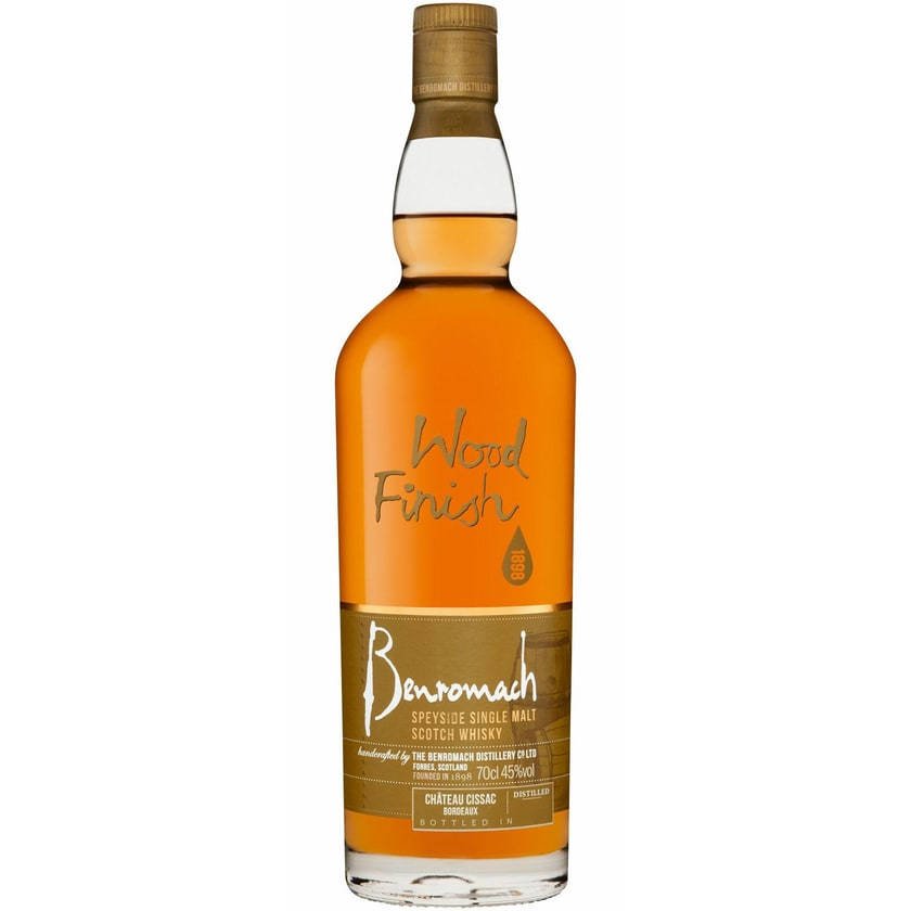 Benromach Wood Finish Château Cissac 45%vol. Speyside 2010 Whisky 0.7 l