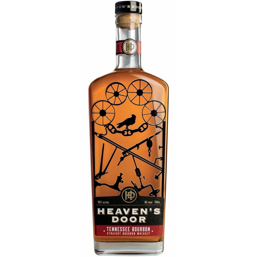 Heaven's Door Straight Bourbon Whiskey 42%vol Whisky 0.7 l