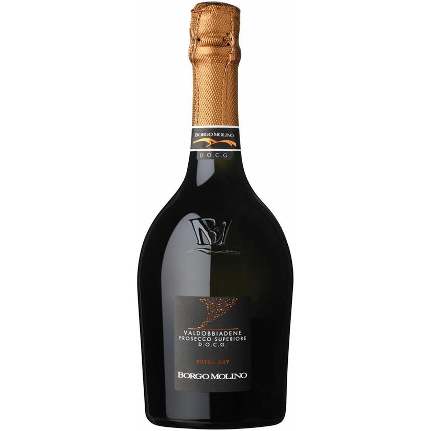 Borgo Molino Prosecco Superiore extra dry Venetien Prosecco 1 x 0.75 l