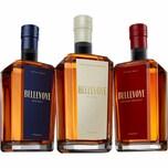 Les Bienheureux Bellevoye Trio 3x0,2l Whisky aus Frankreich Whisky aus Frankreich Whisky 1 x 0.6 l