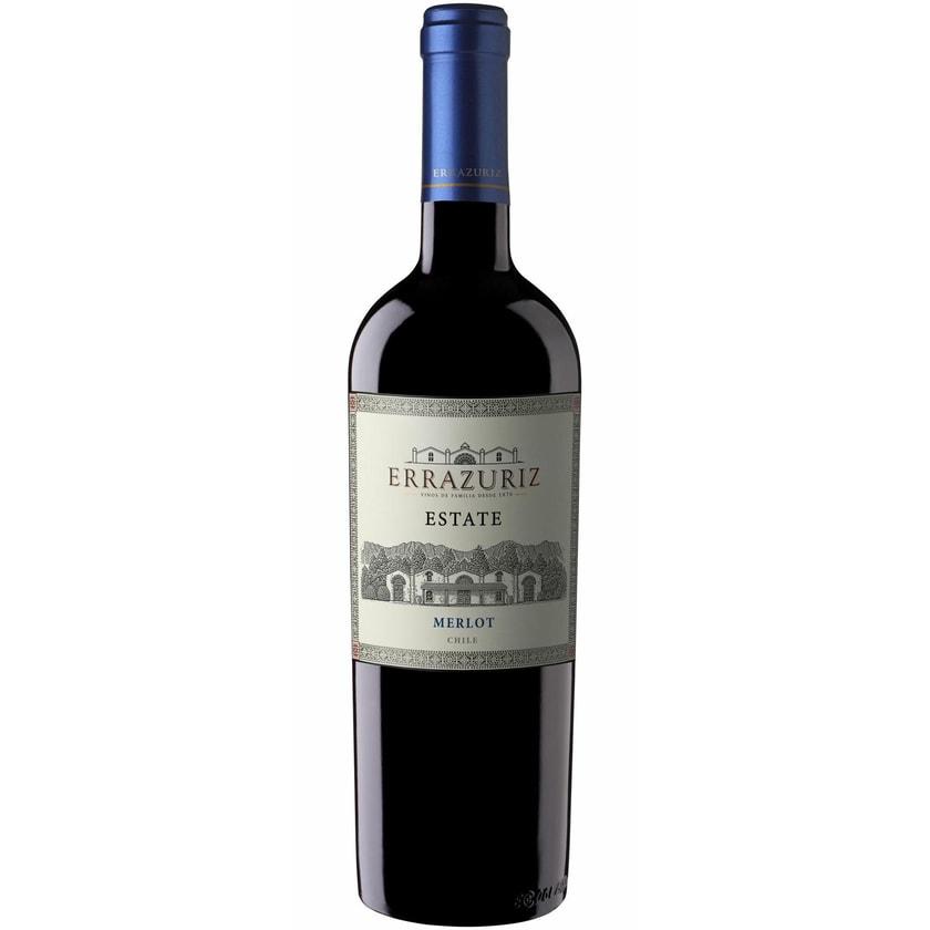 Vina Errazuriz Errazuriz Estate Merlot Central Valley 2019 Wein 1 x 0.75 l
