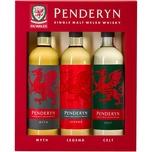 Penderyn Trio Dragon Range 41% vol. Welsh Whisky 0,6l