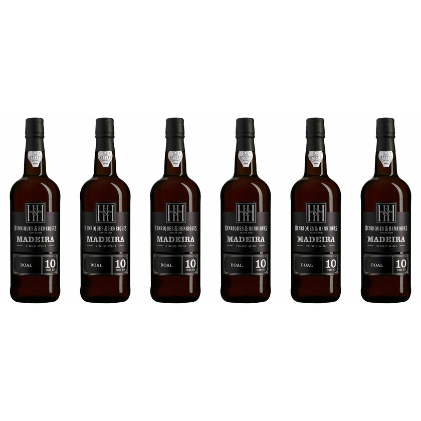 Henriques & Henriques Bual Aged 10 years 20% vol Madeira Madeira 6 x 0.75 l