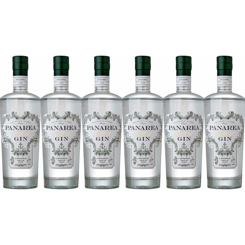 DIS Distillers & Distributors Panarea Island Gin 44% vol Gin 6 x 0.7 l