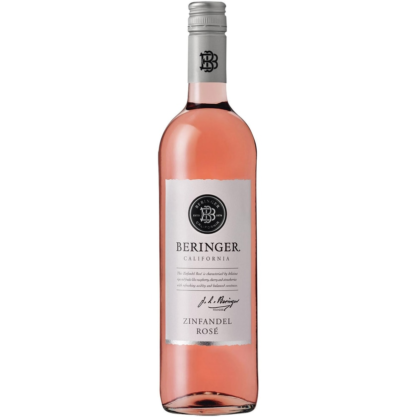 Beringer Classic Zinfandel Rosé Kalifornien 2019 Wein 1 x 0.75 l