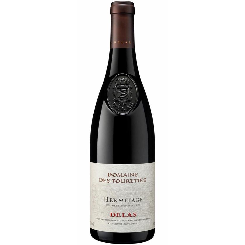 Delas Frères Hermitage Domaine des Tourettes Rhône 2018 Wein 1 x 0.75 l