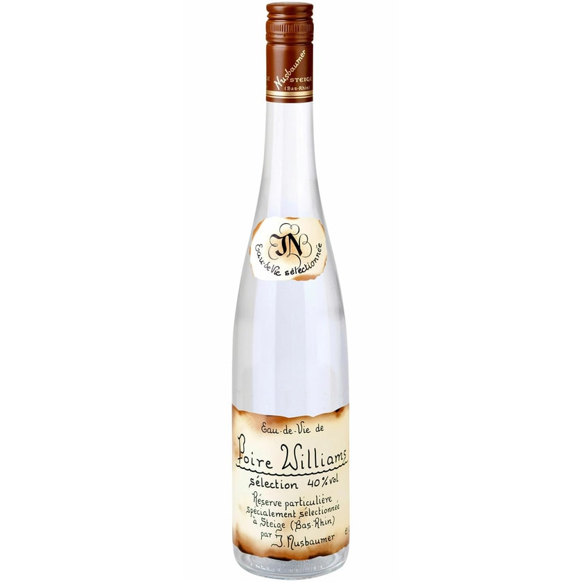 Distillerie Nusbaumer Poire Williams Selection 40% vol Elsass Obstbrand 0.7 l