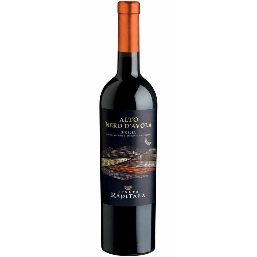 Tenuta Rapitalà Alto Nero d'Avola Sicilia Sizilien 2018 Wein 1 x 0.75 l