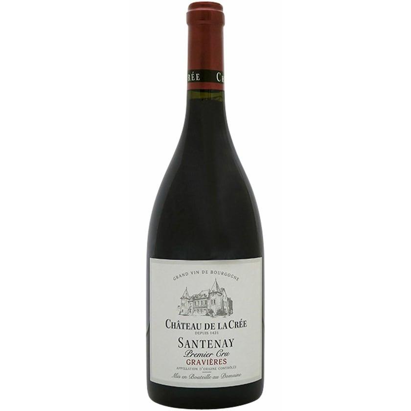 Château de la Crée Santenay Gravières Rouge Burgund 2015 1 x 0.75 l