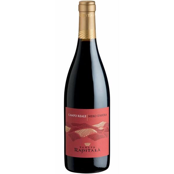 Tenuta Rapitalà Campo Reale Nero d'Avola Sicilia Sizilien 2018 Wein 1 x 0.75 L