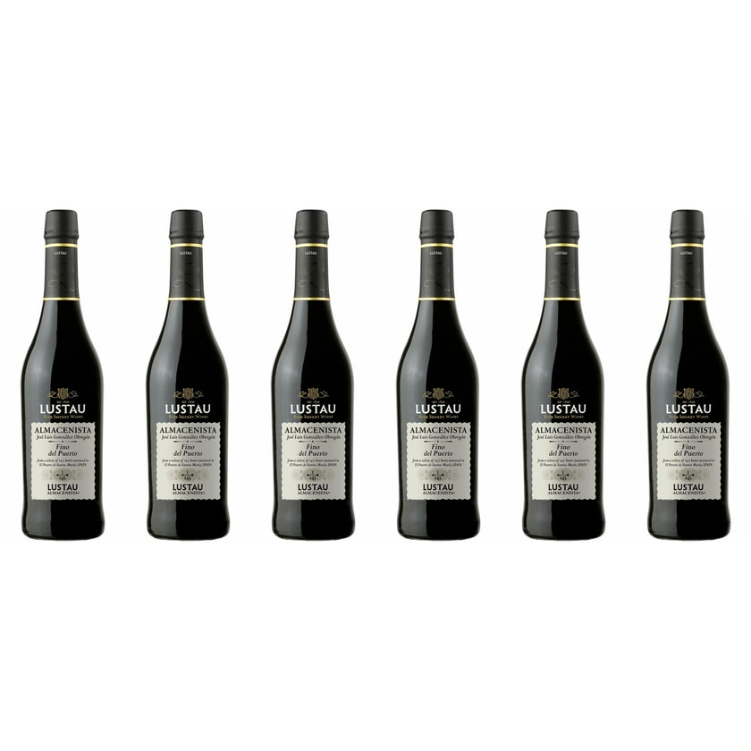 Emilio Lustau Fino del Puerto Sherry 1/143 15% vol Jerez Sherry 6 x 0.5 l