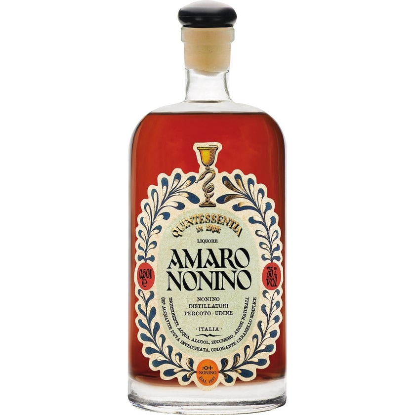 Nonino Amaro Quintessentia Di Erbe 35% vol Kräuterlikör 1 x 0.5 l