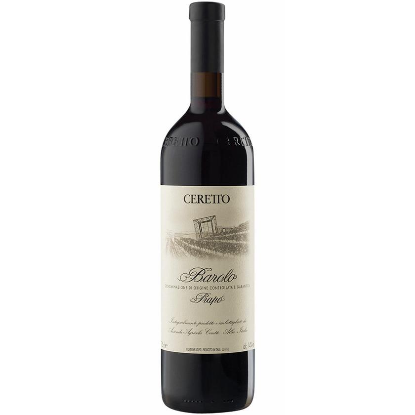 Ceretto Barolo Prapò Piemont 2011 Wein 1 x 0.75 L