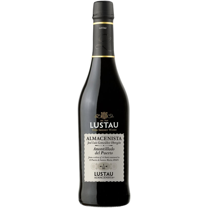 Emilio Lustau Amontillado del Puerto Sherry 1/10 18,5% vol Jerez Sherry 1 x 0.5 l