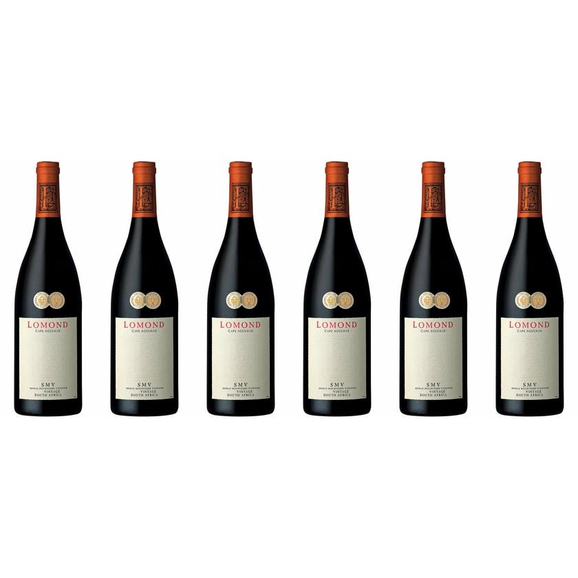 Lomond Lomond SMV Red Blend Cape Agulhas 2014 Wein 6 x 0.75 l