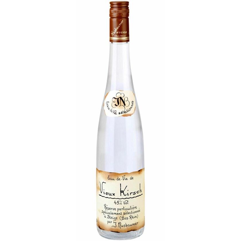 Distillerie Nusbaumer Vieux Kirsch 45% vol Elsass Obstbrand 0.7 l
