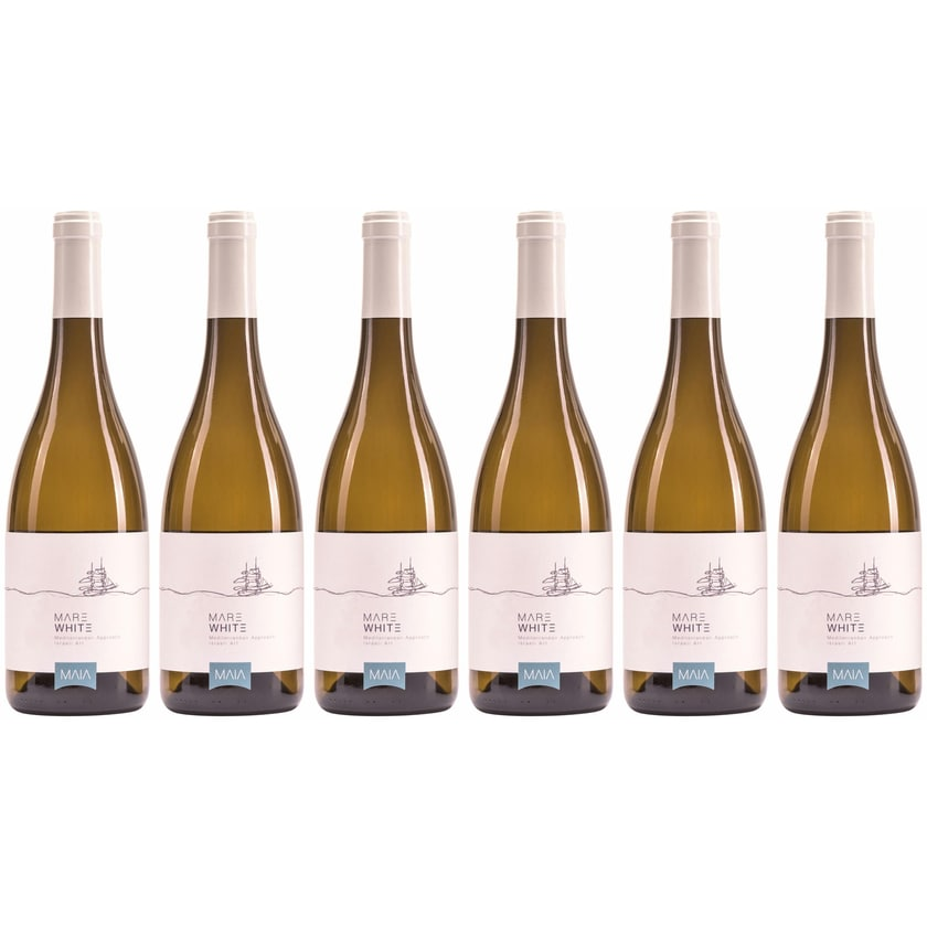 Maia Winery Mare White Binyamina, Zichron Yaakov 2019 6 x 0.75 l
