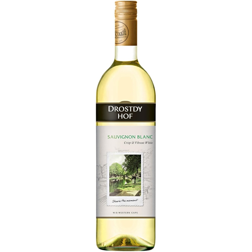 Drostdy-Hof Drostdy-Hof Sauvignon Blanc Western Cape 2019 Wein 1 x 0.75 l