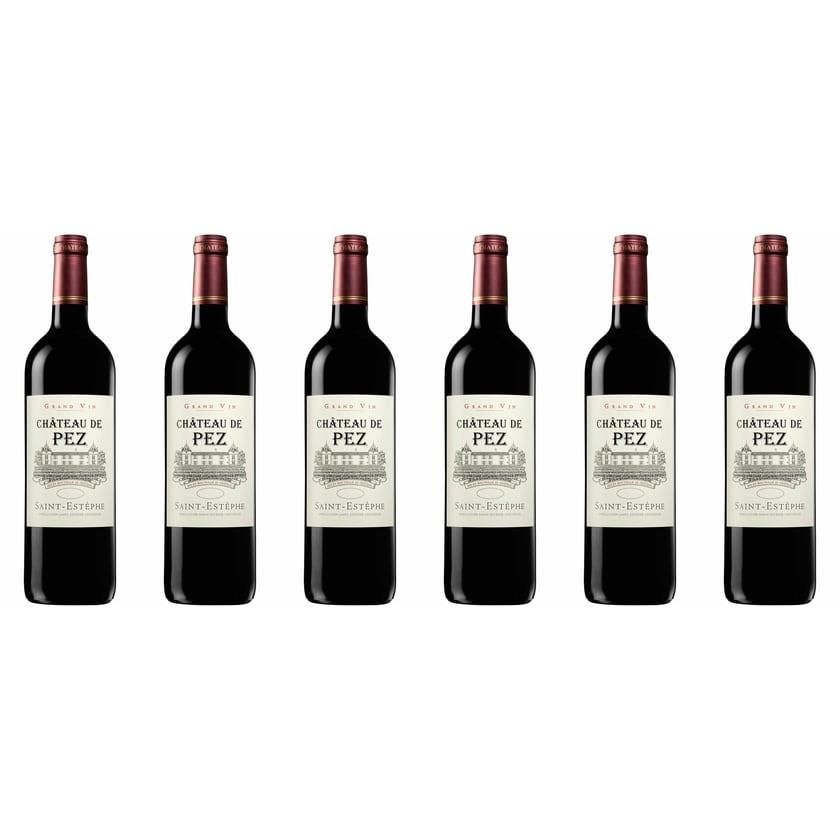 Château de Pez Château de Pez Cru Bourgeois Exceptionnel Bordeaux 2018 Wein 6 x 0.75 l