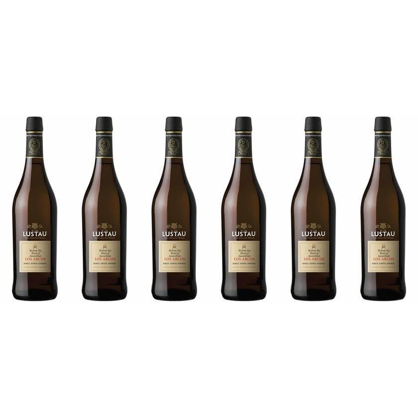 Emilio Lustau Amontillado Sherry Medium Dry 18,5% vol Jerez Sherry 6 x 0.75 l
