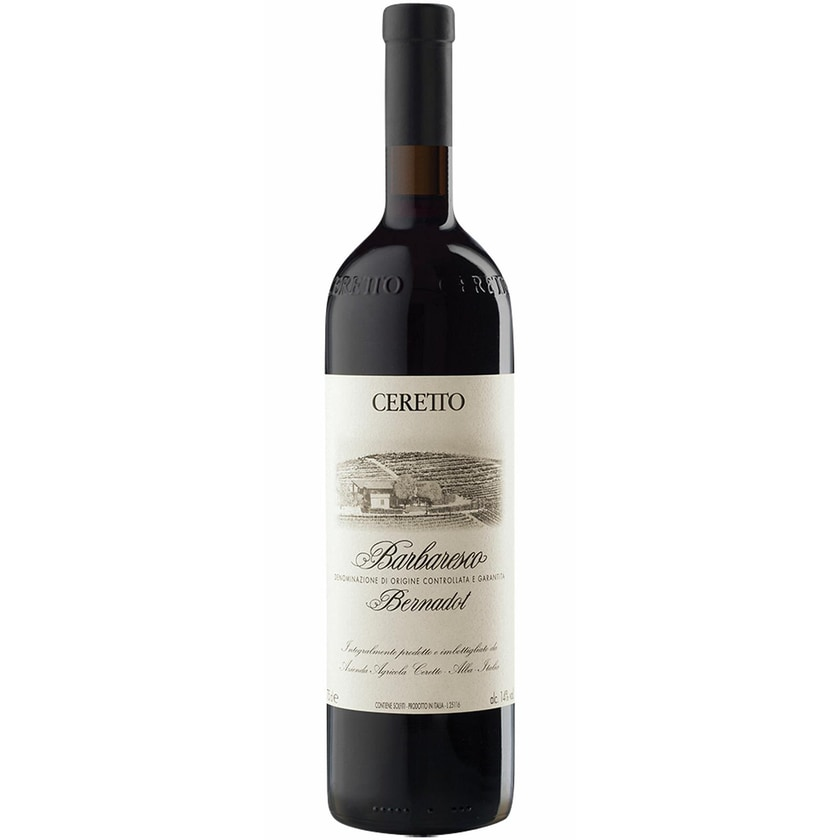 Ceretto Barbaresco Bernadot Piemont 2014 Wein 1 x 0.75 l