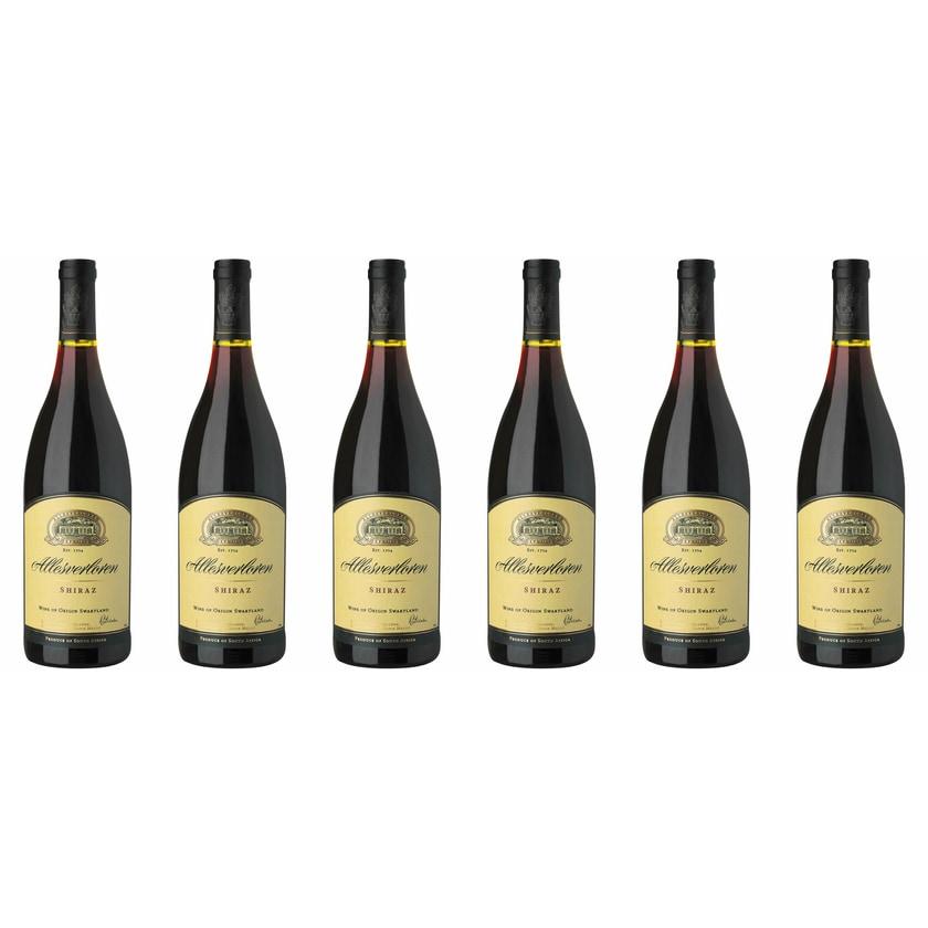 Allesverloren Allesverloren Shiraz Swartland 2018 Wein 6 x 0.75 l