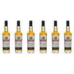 Penderyn Royal Welsh Whisky 43%vol Icons of Wales No. 6 Welsh Whisky Whisky 6 x 0.7 L