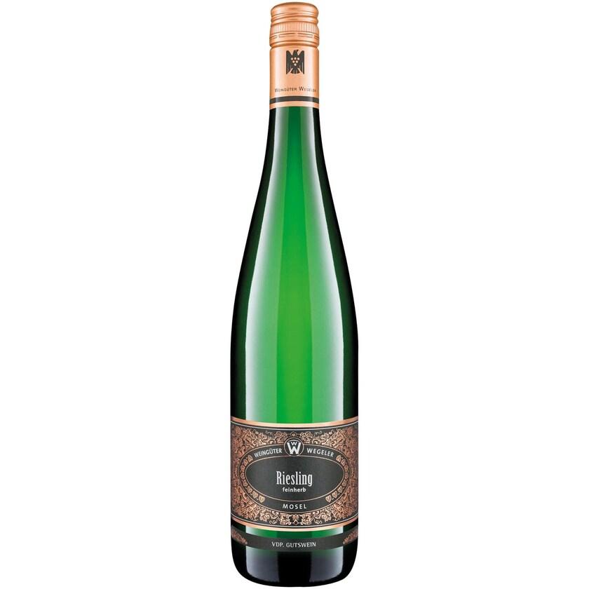 Weingüter Wegeler Wegeler Riesling feinherb VDP Gutswein Mosel 2019 1 x 0.75 l