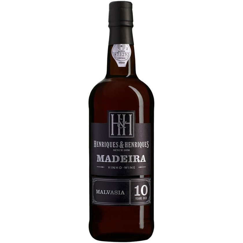Henriques & Henriques Malvasia Aged 10 years 20% vol Madeira Madeira 1 x 0.75 l