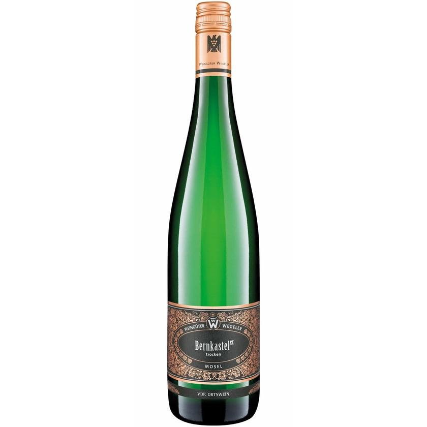 Weingüter Wegeler Bernkastel Riesling trocken VDP Ortswein Mosel 2019 1 x 0.75 l