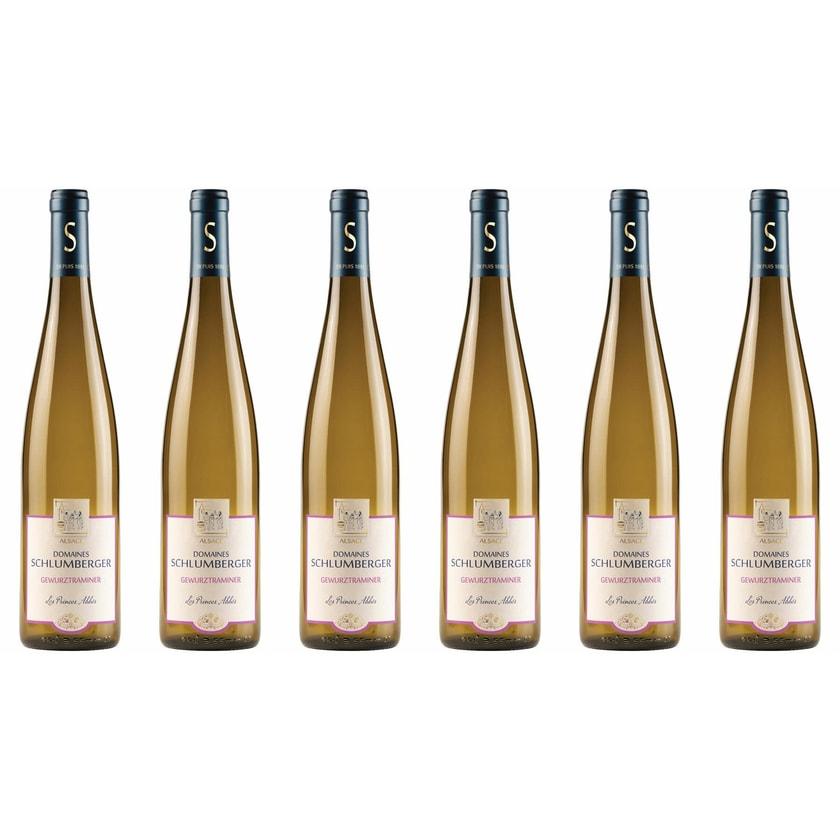 Domaines Schlumberger Gewürztraminer les Princes Abbés Elsass 2018 Wein 6 x 0.75 l