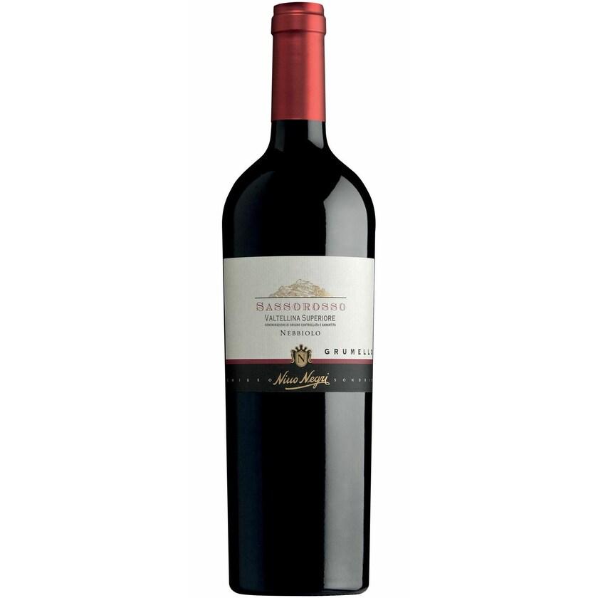 Nino Negri Sassorosso Grumello Valtellina Superiore Lombardei 2017 Wein 1 x 0.75 l
