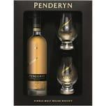 Penderyn GP Madeira + 2 Gläser 46% vol Welsh Whisky Whisky 6 x 0.35 L