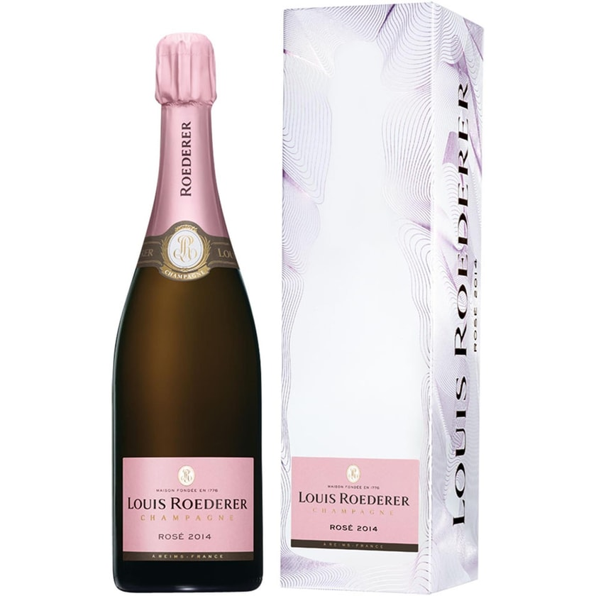 Champagne Louis Roederer Roederer Brut Rosé Jahrgang Champagne 2014 Champagner 1 x 0.75 l