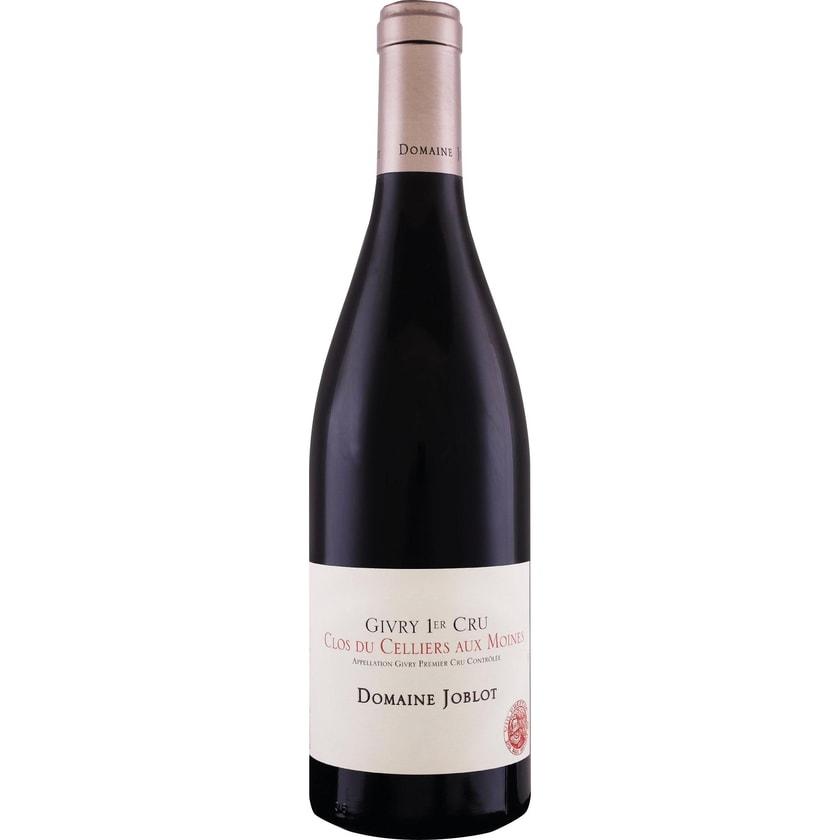 Domaine Joblot Givry 1er Cru Clos du Cellier aux Moines Rouge Burgund 2019 Wein 1 x 0.75 l