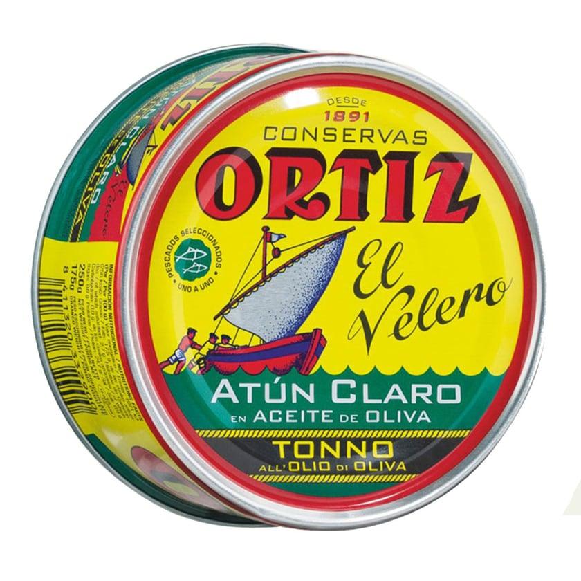 Conservas Ortiz S.A. Atun Claro Gelbflossenthunfisch in Olivenöl 250g