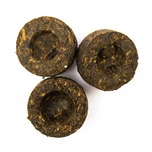 Schrader Black Pu Erh Mini Tuocha Tee 100g