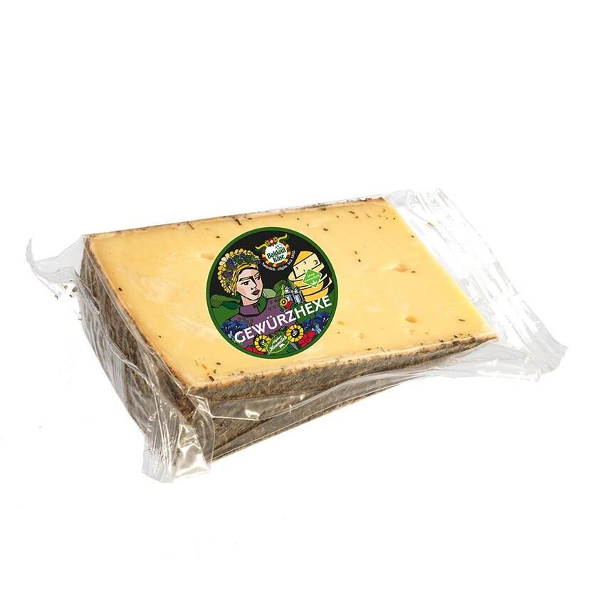 Baldauf Käse Gewürzhexe im Stück 300g