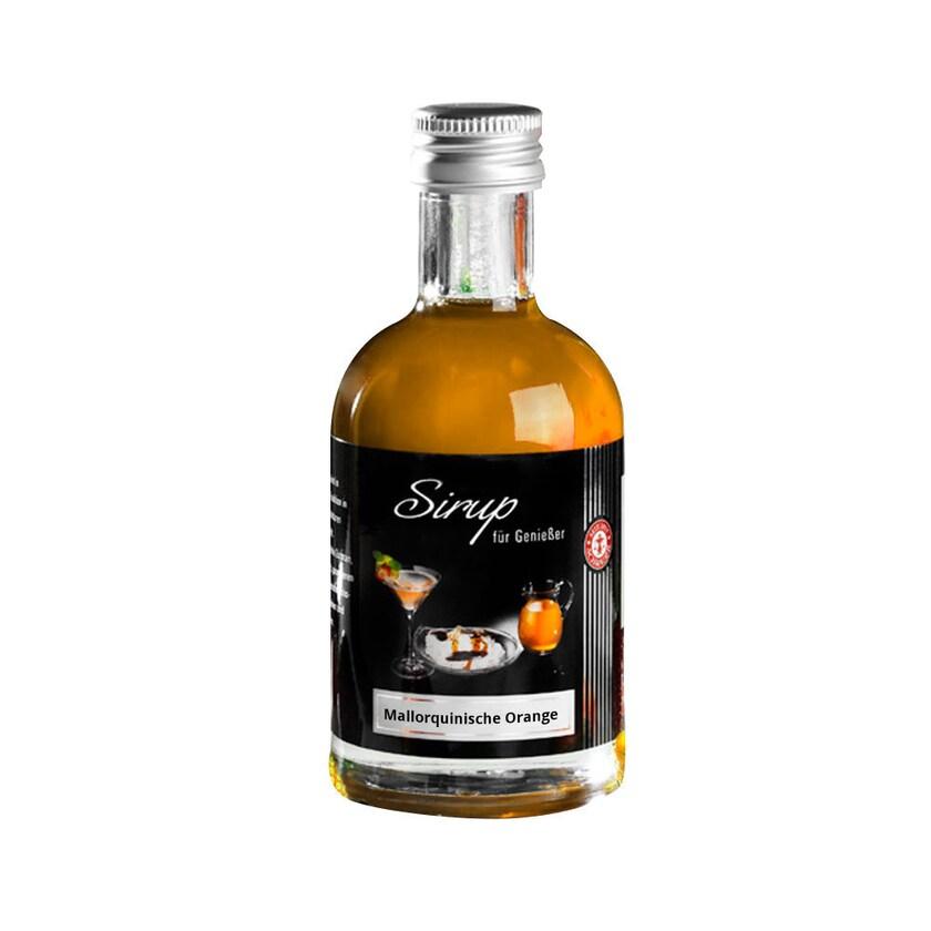 Schrader Sirup mit mallorquinischen Orangen & Tahiti Vanille 200ml