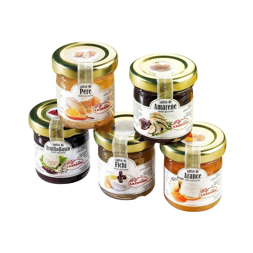 Schrader Frucht Senf Saucen Probierset 250g