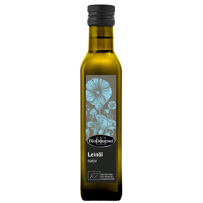 BioGourmet Leinöl nativ 250ml