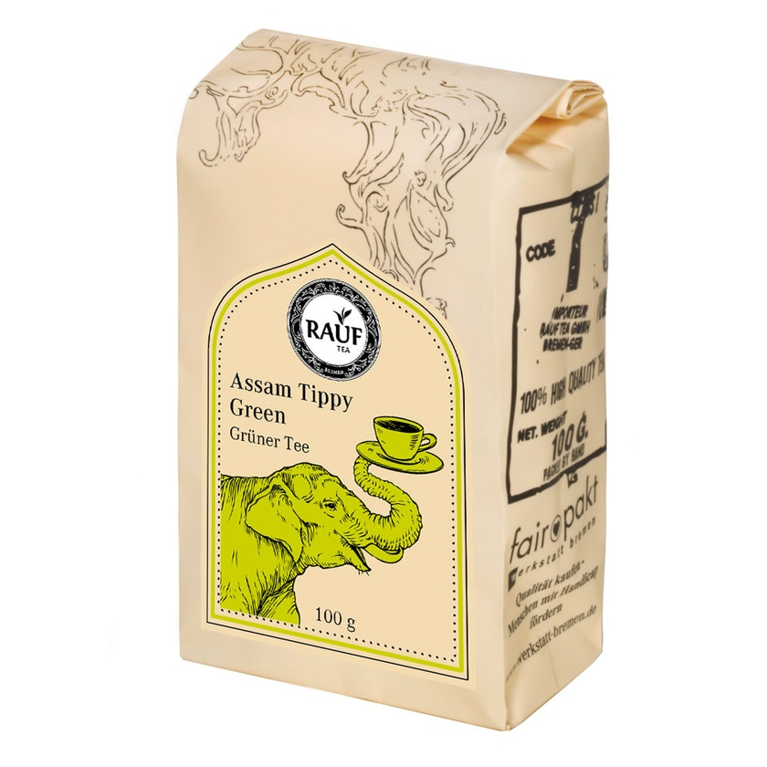 Rauf Tee Assam Tippy Green 100g