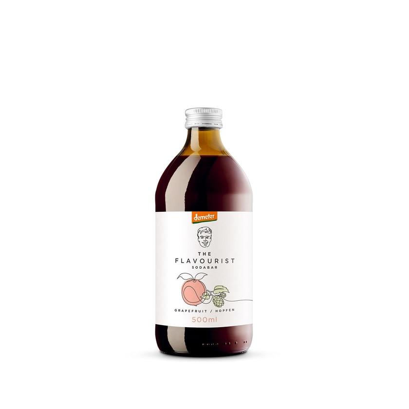 The Flavourist Bio Grapefruit Hopfen Demeter Getränkesirup 500 ml